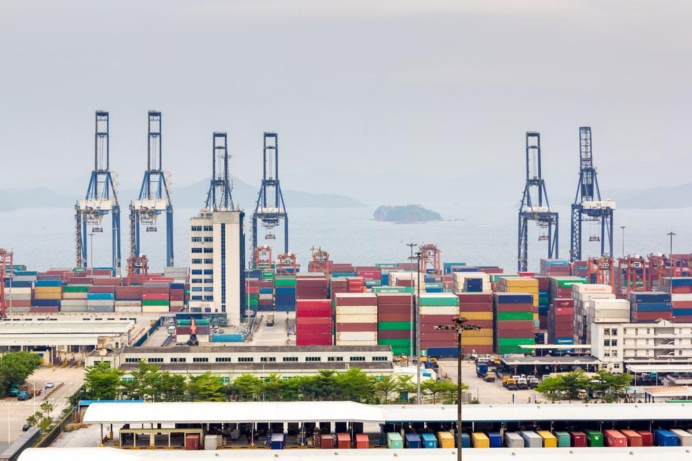Yantian Port, China